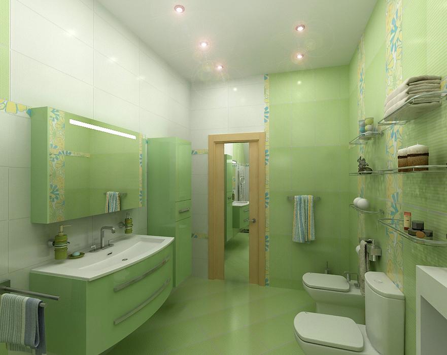 варианты оформления плиткой ванной комнаты