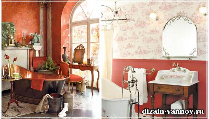 мебель для ванной ретро