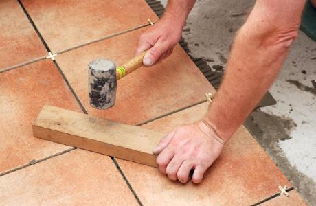 укладка плитки в ванной инструкция