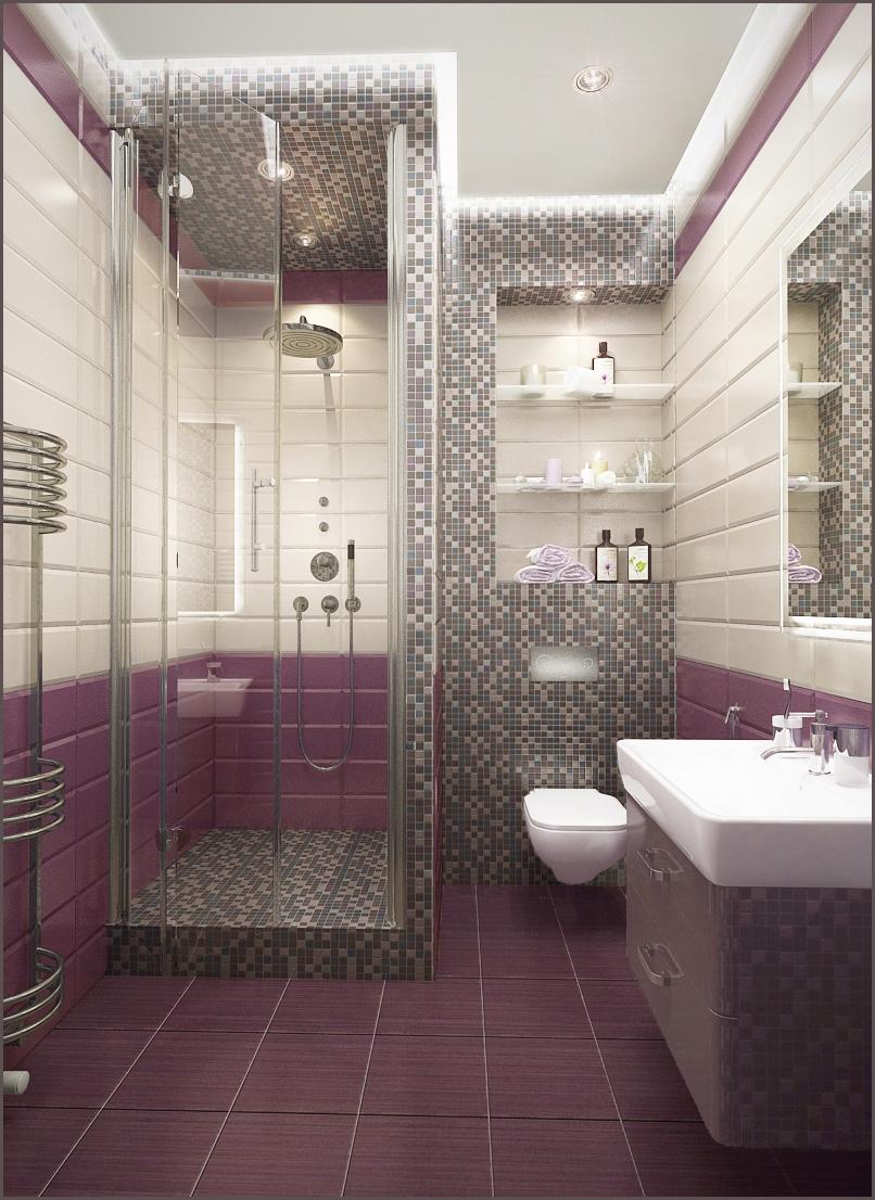 выкладка плитки в ванной фото