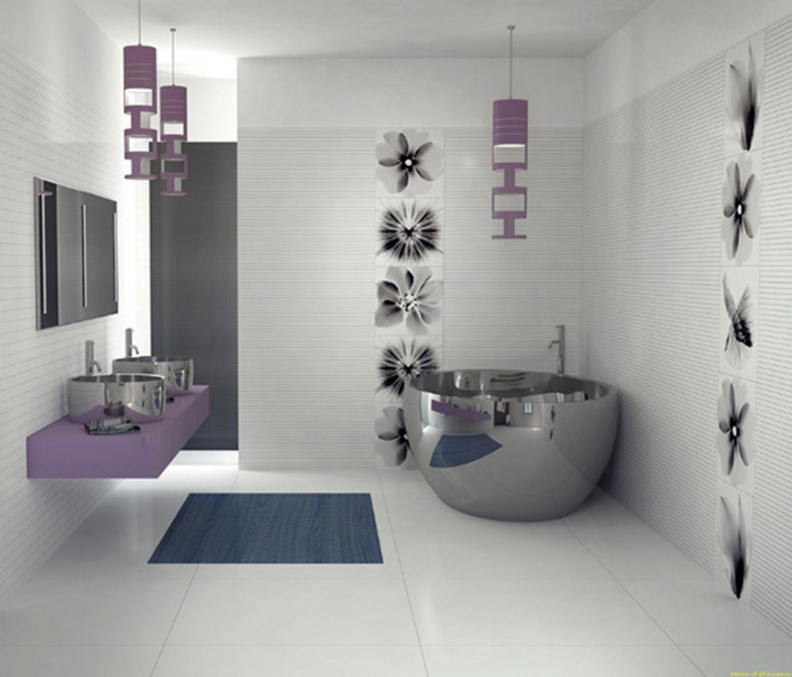 мебель для ванной хайтек