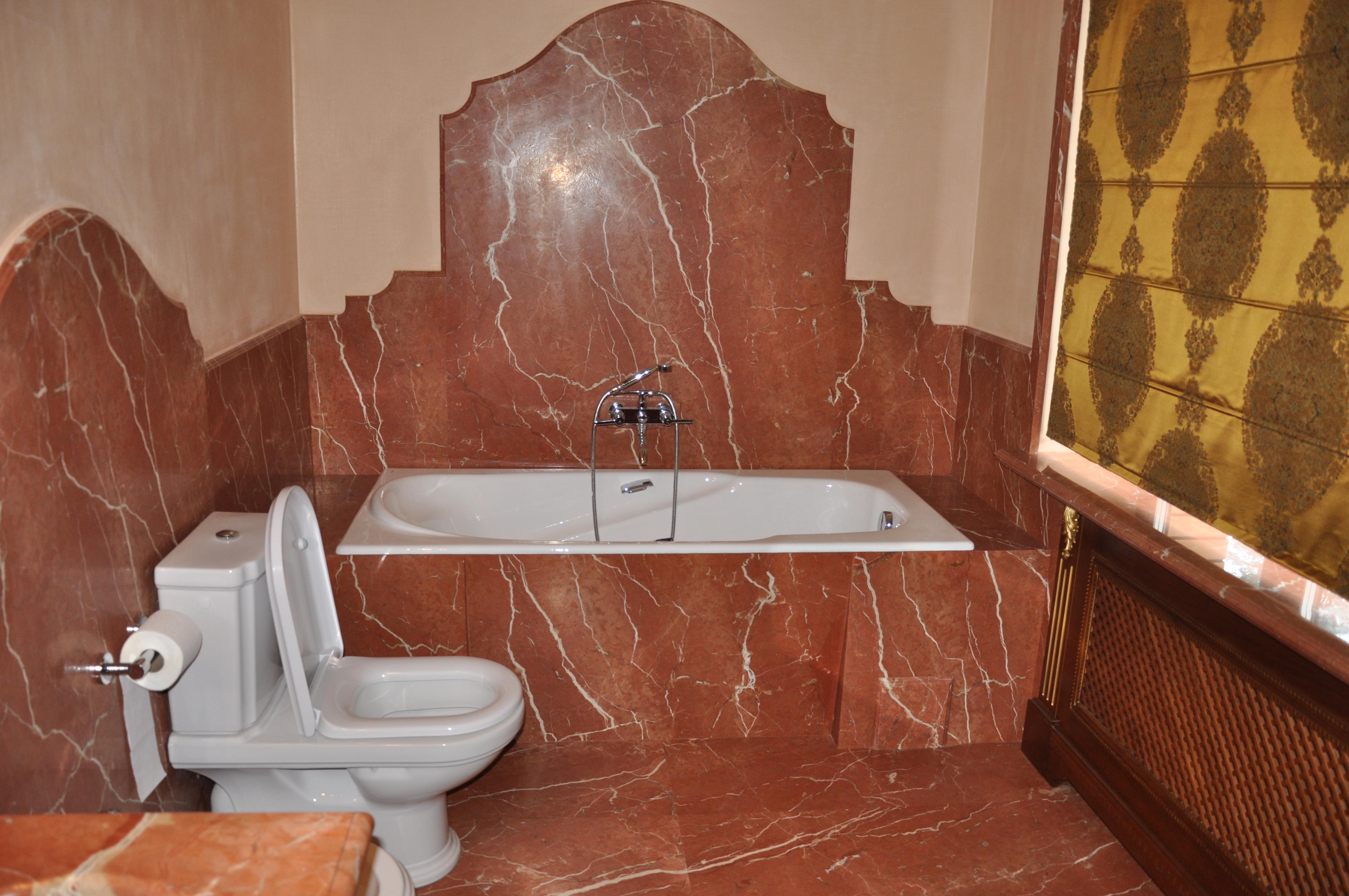 мрамор ванная комната