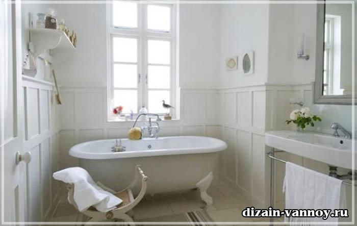 ванна в стиле винтаж