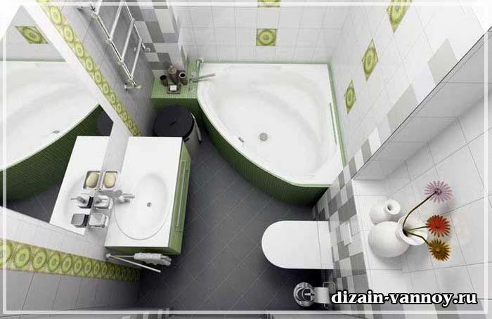 ремонт в ванной брежневке