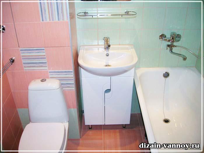 Как сделать красиво и недорого ванную комнату в