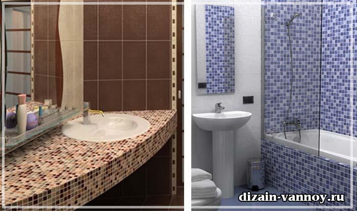 мозаика в ванной фото