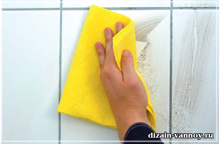 межплиточные швы в ванной