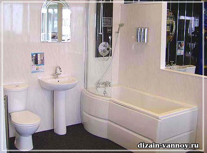 как отделать ванную