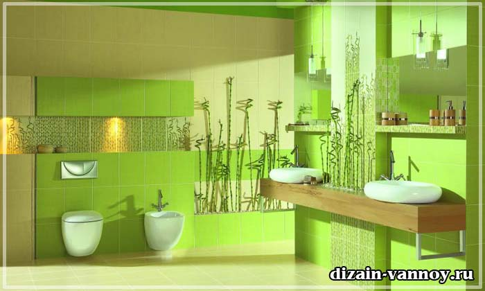 плитка для ванной бамбук фото