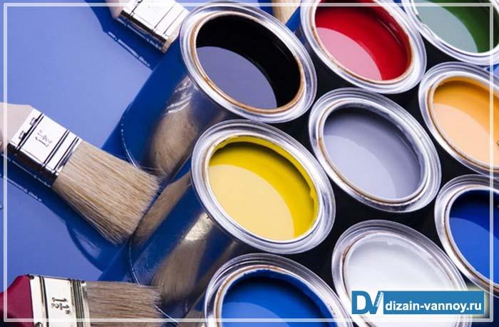 водоэмульсионная краска для ванной комнаты