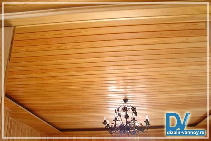 плитка на потолок в ванной