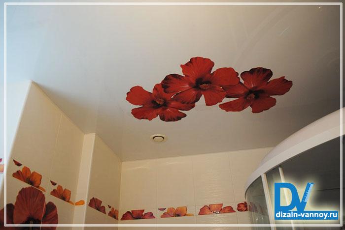 потолочное покрытие для ванной комнаты