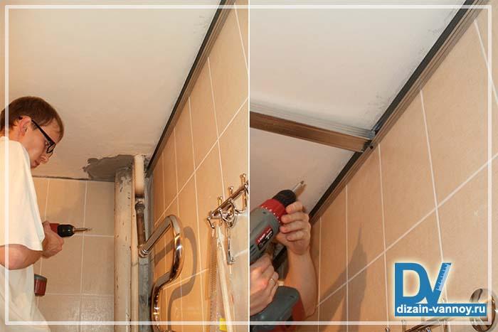 потолочные панели для ванной комнаты