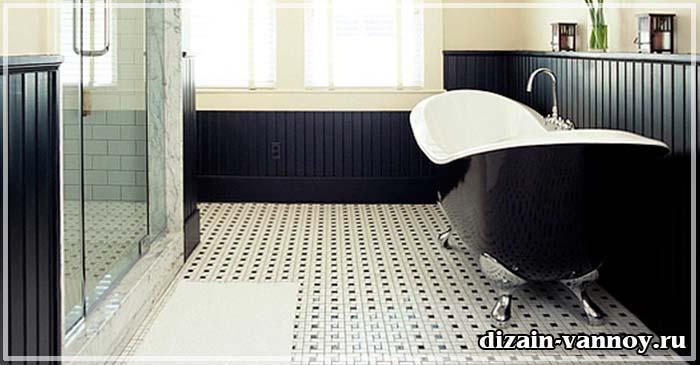 покрытие на пол в ванную