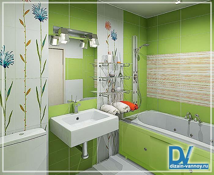 дизайн обычной ванной комнаты фото