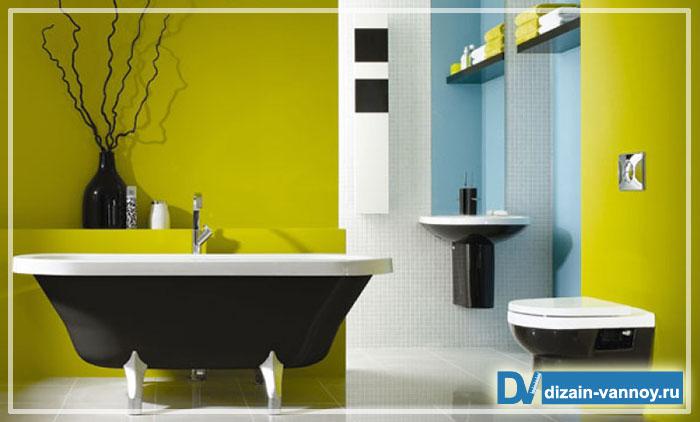 чем покрасить стены в ванной