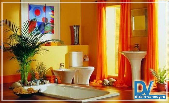 какой краской покрасить ванную комнату