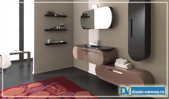 мебель для ванной комнаты оригинальная
