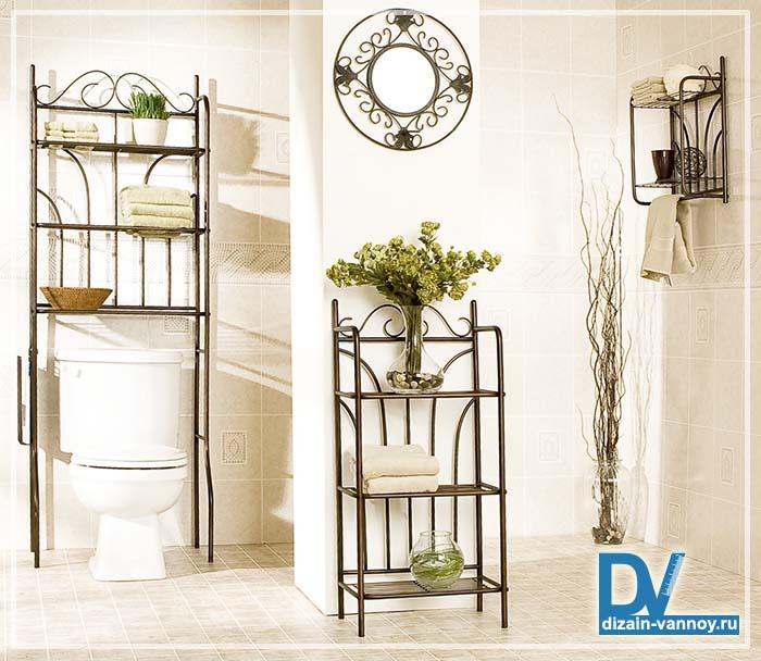 плетеная мебель для ванной