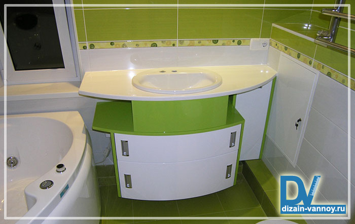мебель для ванной нестандартная