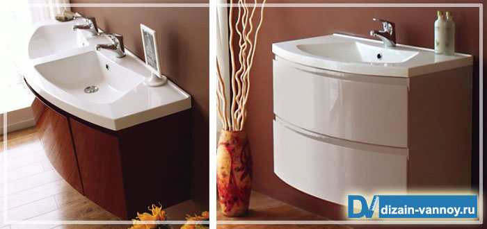 мебель для ванной комнаты нестандартная