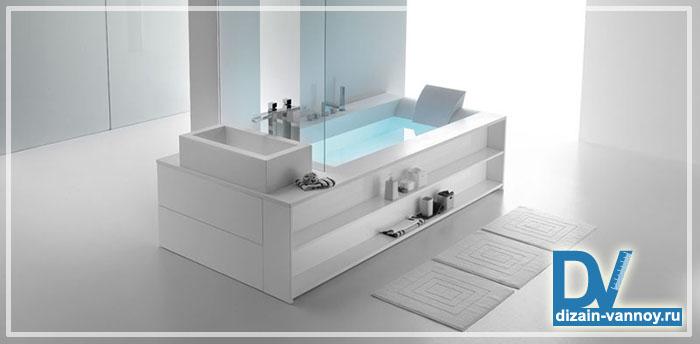 модный интерьер ванной комнаты фото