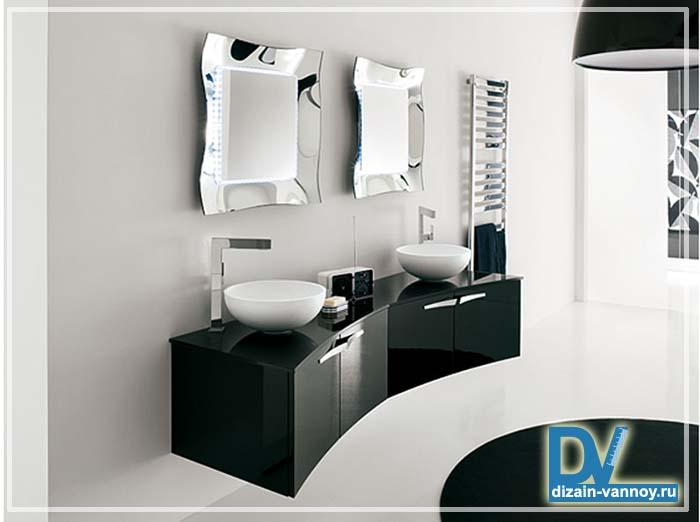 мебель для ванной из пластика