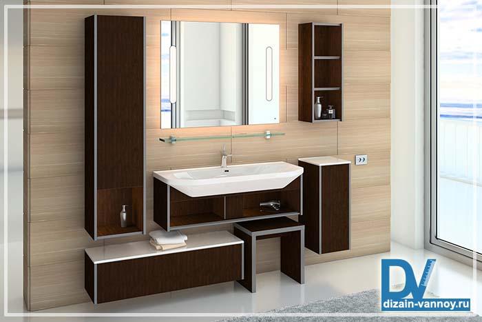 мебель для ванной подвесная