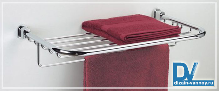 полка для полотенец в ванную