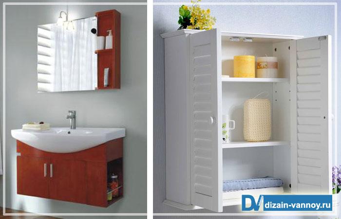 деревянные полки для ванной комнаты
