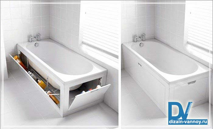 как расставить мебель в ванной