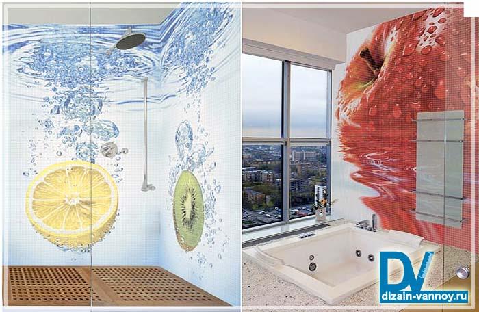 оформление ванной комнаты своими руками