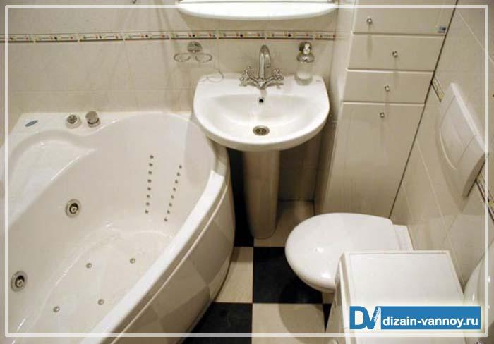 дизайн ванной в брежневке