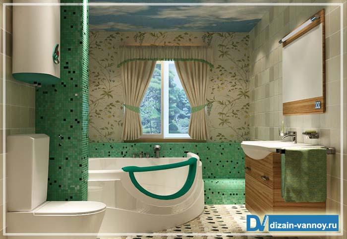 ванны нестандартной формы