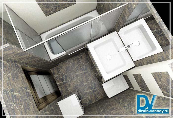 ванная комната в сталинке фото