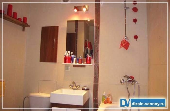 дизайн ванной комнаты в сталинке