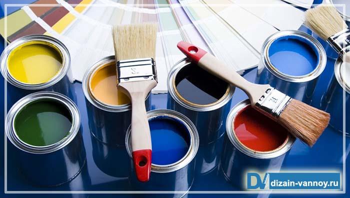 краска для стен в ванной