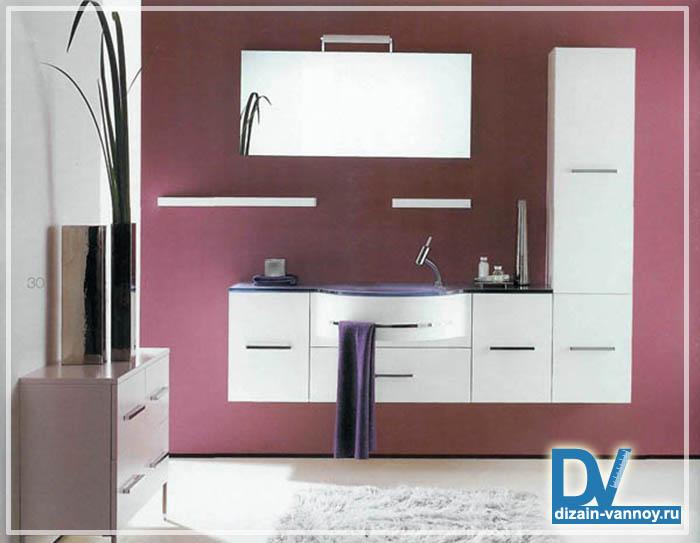 мебель под раковину в ванную