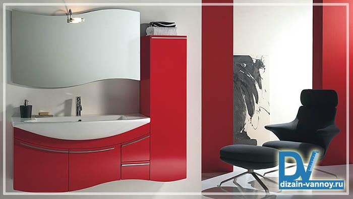 напольная мебель для ванной комнаты