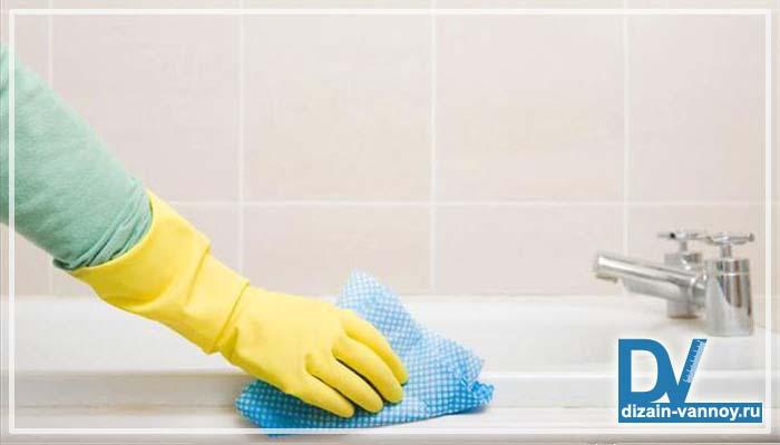 как отбелить ванну