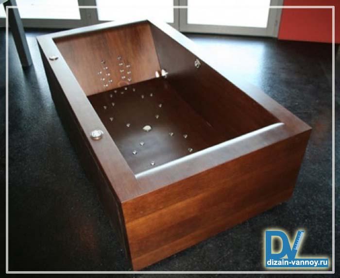 ванная деревянная