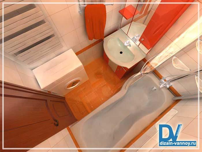 ванная в хрущевке дизайн фото