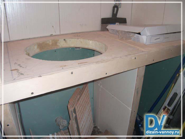 короб для стояка в ванной