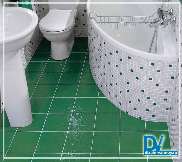 плитка пвх для ванной