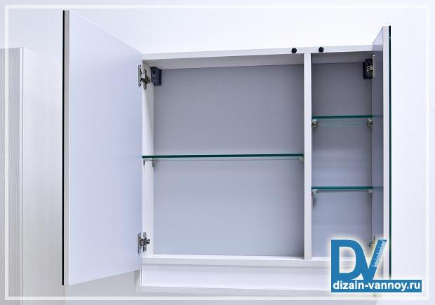 подвесной шкаф в ванную комнату
