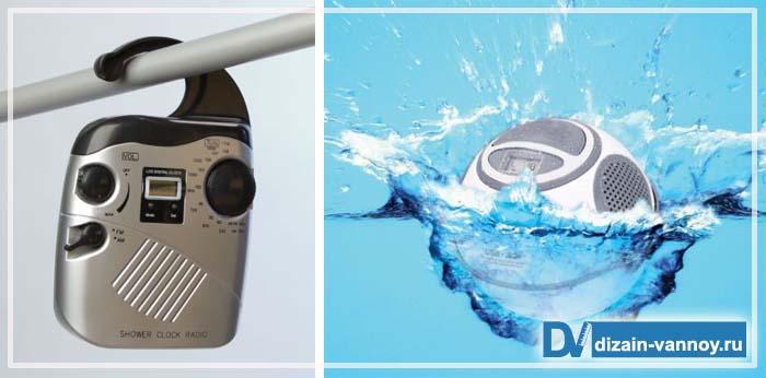 радио для ванной комнаты встраиваемое