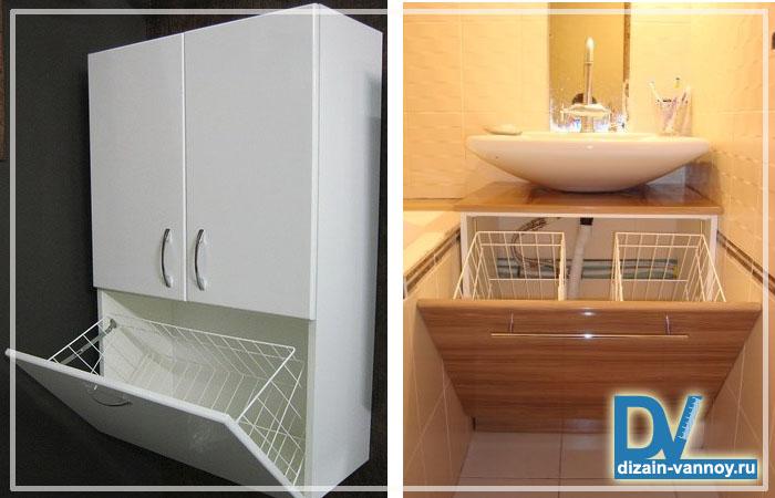 бельевой шкаф в ванную