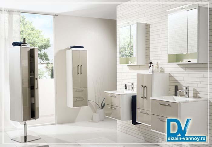 крутящийся шкаф для ванной