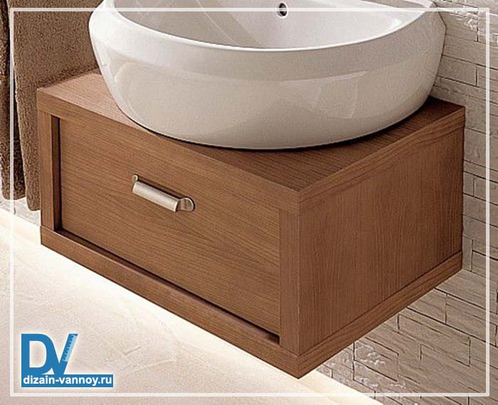 шкафчик под раковину в ванную