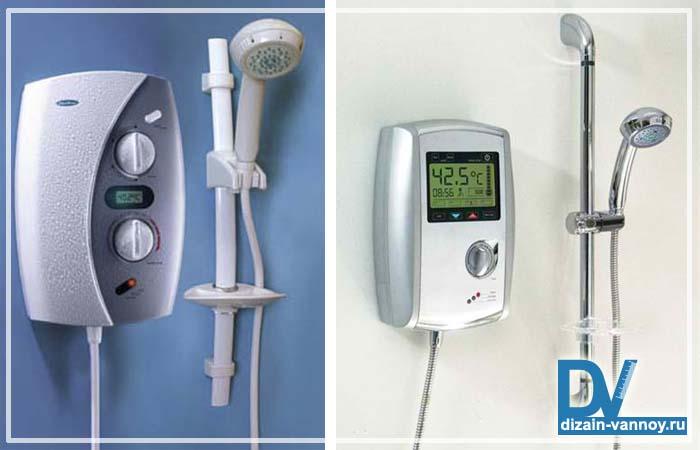 водонагреватель в ванной комнате фото